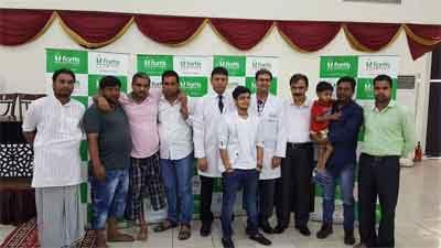 Dr. Richie Gupta Fortis Hospital Shalimar Bagh observes National Plastic and Reconstructive Surgery Day